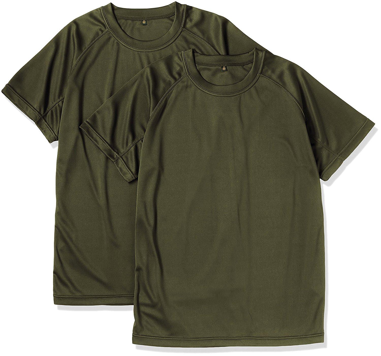 100枚でも足りない!速乾性のOD色Tシャツは必須品!